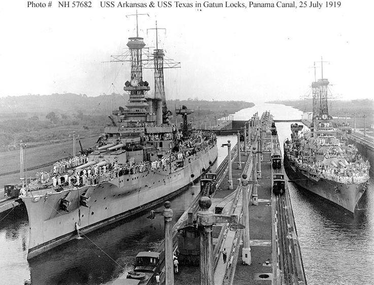 USS Arkansas & USS Texas