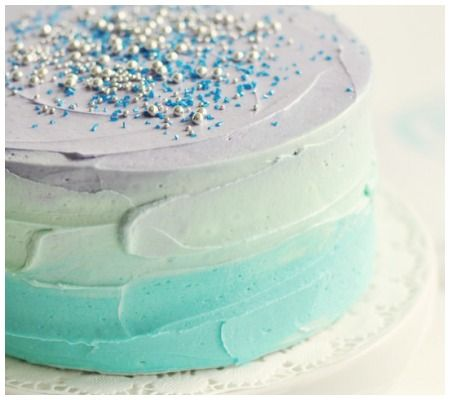 Bring The Spring In: 12 Pastel U0026 Ombre Baby Shower Cakes