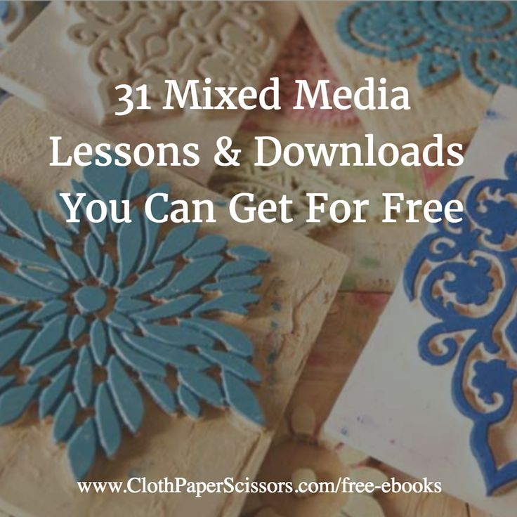 Free eBooks from Cloth Paper Scissors magazine! #ArtJournal #Assemblage #MixedMedia #Creativity
