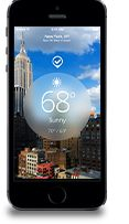The Weather Channel for iPhone