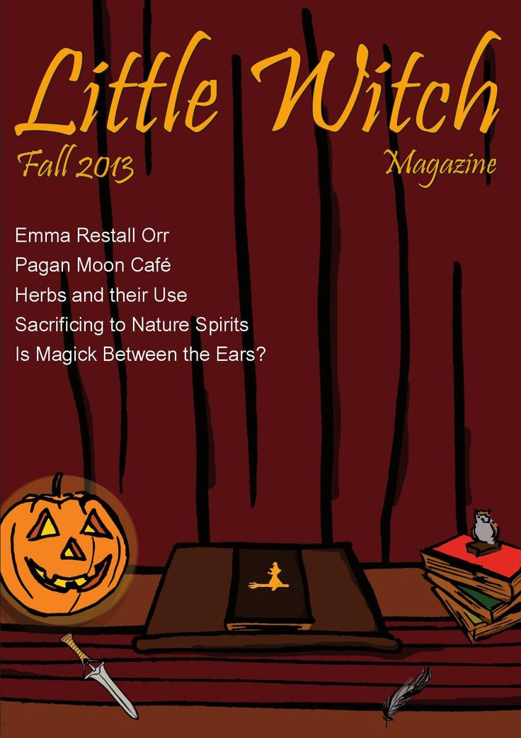 Little Witch Magazine 12 - Fall 2013  The twelfth English LWM, Fall 2013