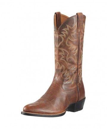 Ariat Mens Heritage Western R Toe Boot