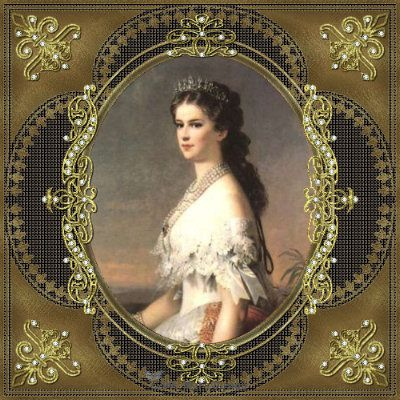 """Empress Elisabeth """"Sissi"""" of Austria had a somewhat tragic life, but she was renowned for her stunning beauty and free spirit."""