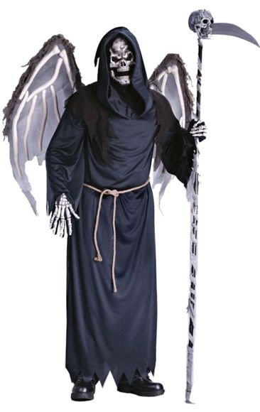 Teen Halloween Winged Reaper | Jokers Masquerade