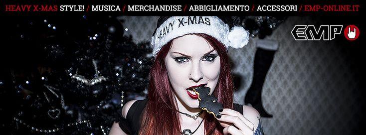 Presi dall'atmosfera di questo periodo e vista l'aria di rinnovo che aleggia in casa EMP, abbiamo pensato di realizzare nuove cover per festeggiare il Natale a ritmo di rock!  Scegliete la grafica che preferite e personalizzate il vostro profilo! Let's Rock this #Xmas!
