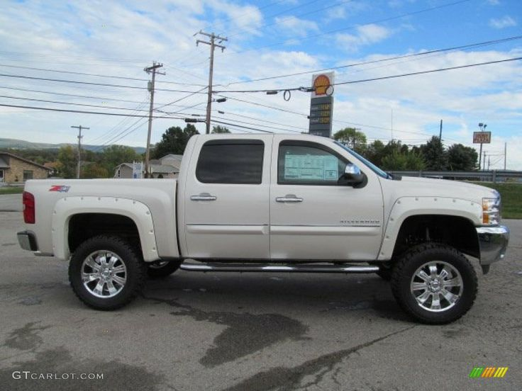white diamond chevy silverado | White Diamond Tricoat 2013 Chevrolet Silverado 1500 LT Crew Cab 4x4 ...