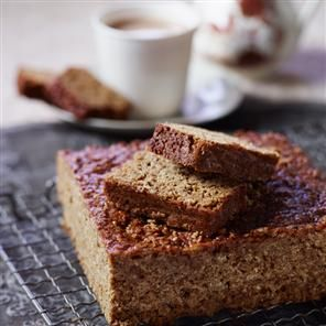Parkin recipe - am gonna make this..if I can find all the ingredients here in Qatar! looks good, but can I store it in  a tin for a whole week until it turns sticky???...may not last that long!