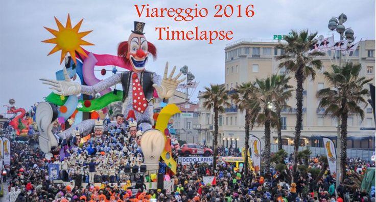 #weusetv #stica #stami #Carnevale #Viareggio #2016 - #Timelapse terzo corso