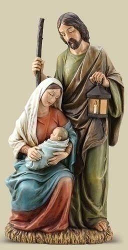 "31.25"" Joseph's Studio Religious Holy Family Christmas Nativity Statue"