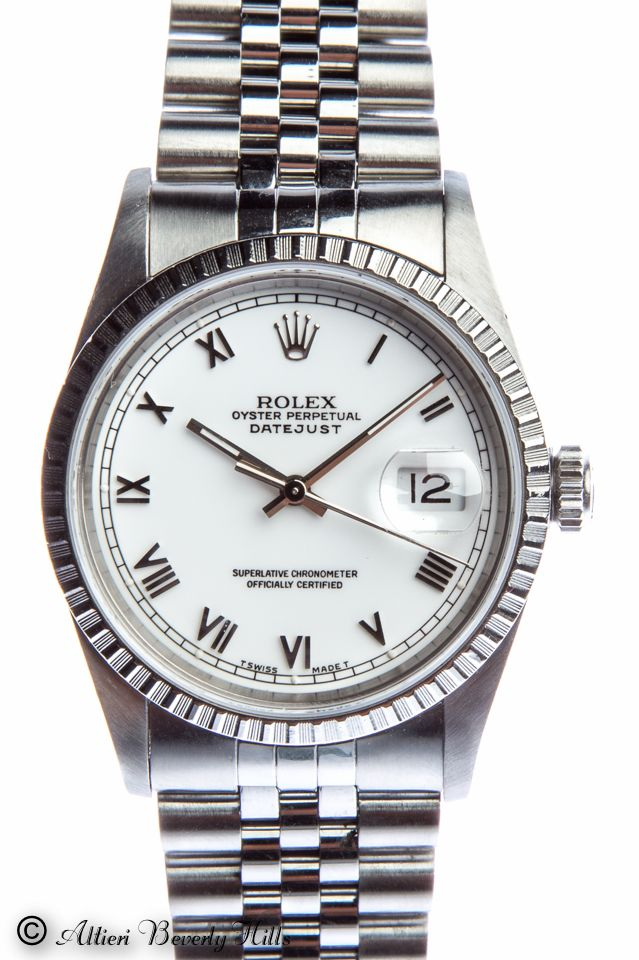 Mens Rolex Datejust Stainless Steel