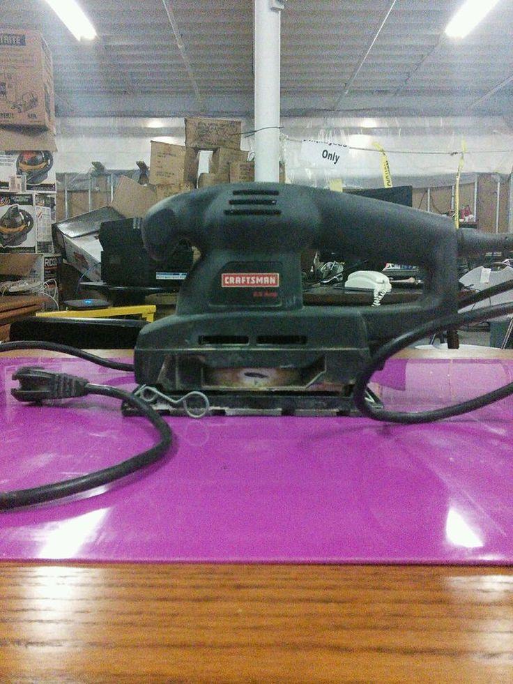 Craftsman 2.0 amp sheet sander  #Craftsman