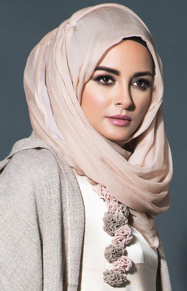 Blushing Tan Hijab