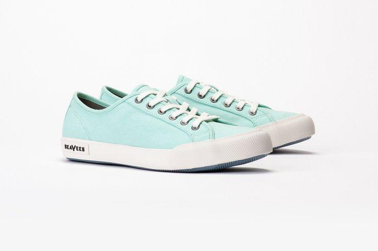Womens - Monterey Sneaker Standard - Sea Glass