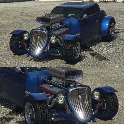 Best Cars to Customize in GTA 5 Online Blue Vapid Hotknife