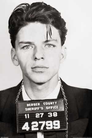 Frank Sinatra - Mugshot Poster at AllPosters.com