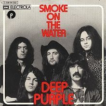 One of the most famous rock riffs of all time was played on a Strat,  belonged to Deep Purple's Smoke On The Water - I was young but I also loved hard  psychedelic rock.