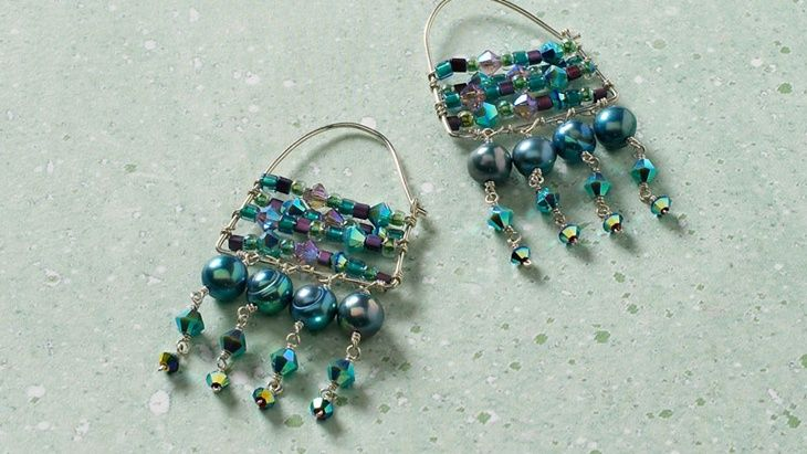 Leitara earrings