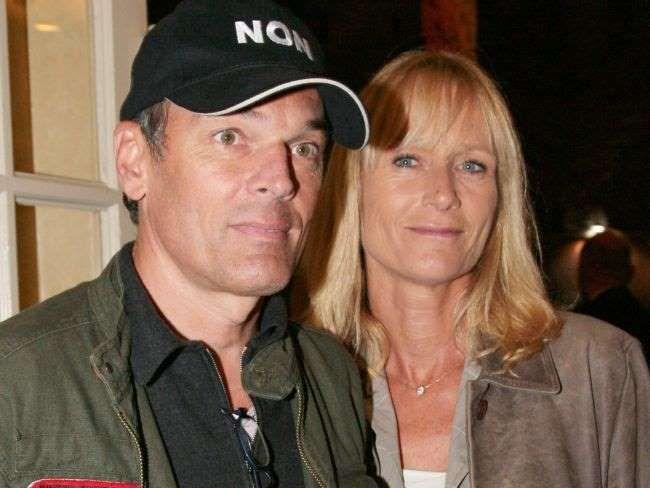 Laurent Baffie et sa femme au Théâtre des Variétés le 8 octobre 2007 à Paris. - BestImage