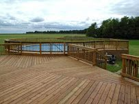 massey deck and fence reviews - above ground pool and deck