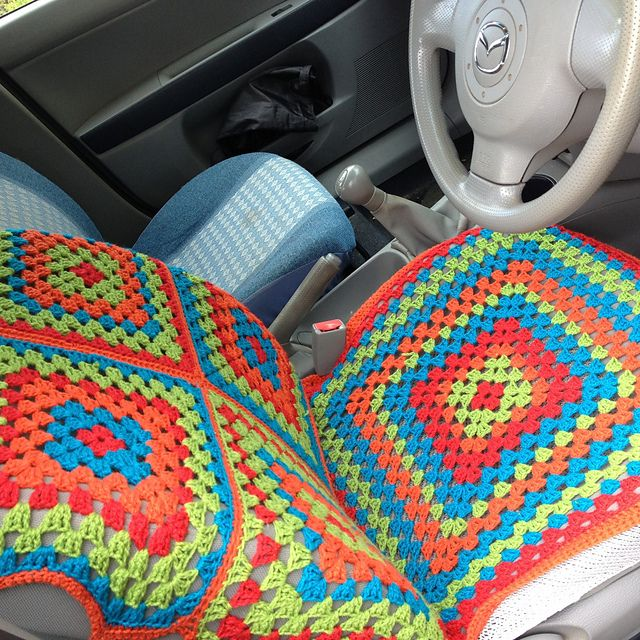 Ravelry: YackityYax's Car Seat Cover