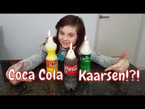 DIY - Zelf Coca Cola, Fanta en Sprite kaarsen maken - Bibi (Nederlands) - YouTube