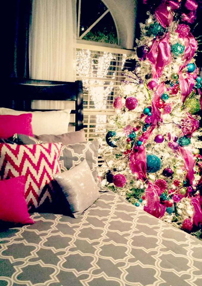 Platinumbronzer Blissful Chanel Beautiful Christmas Tree In My Bedroom C Put It All By Myself
