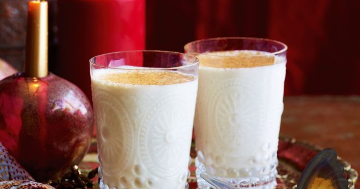 Serve this lightly spiced Indian yoghurt drink at the start of your banquet or as a palate cleanser between dishes.