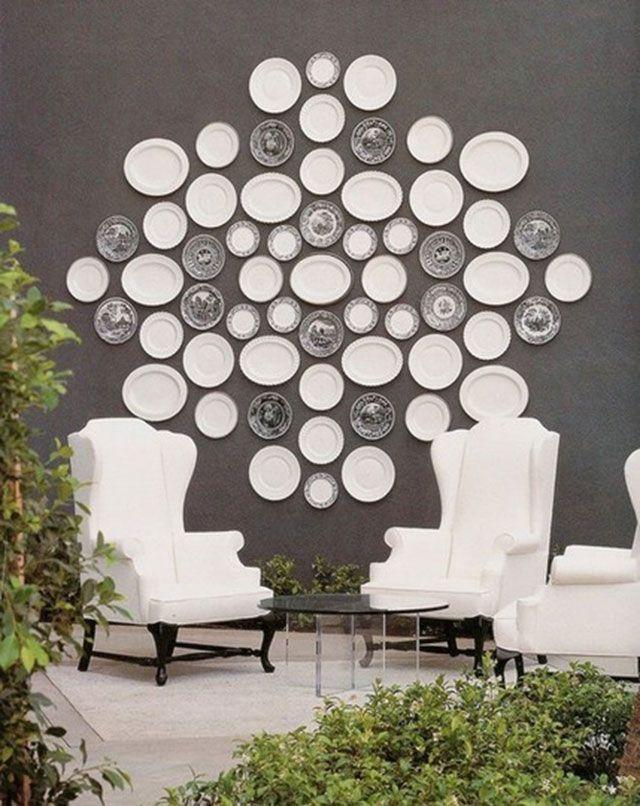 I am working on this idea for my kitchen. 30 creative and stylish wall decorating ideas - Blog of Francesco Mugnai