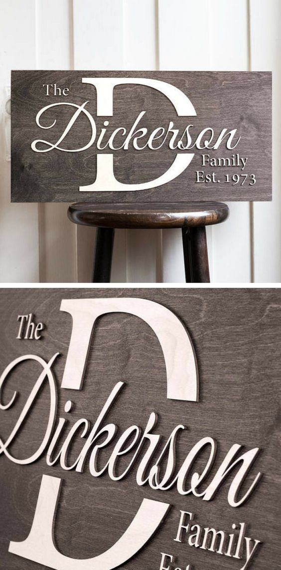 FPersonalized Sign Dickersonu0027s Design 39 best Name