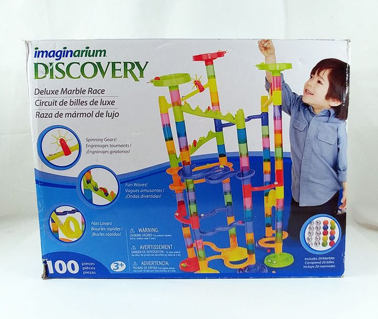 Imaginarium Discovery Deluxe Marble Race 94 Pieces and Marbles Toys R Us #Imaginarium