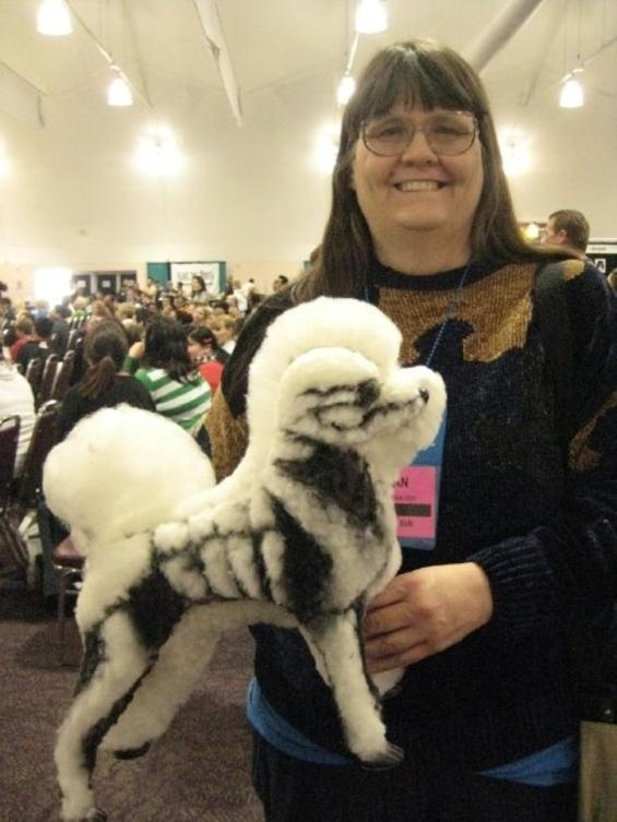 153 best pet grooming images on pinterest dog grooming styles skeleton groomed dogs i love ridiculous looking goods so this creative poodle grooming gallery from the groom and kennel expo in pasadena has really made solutioingenieria Image collections