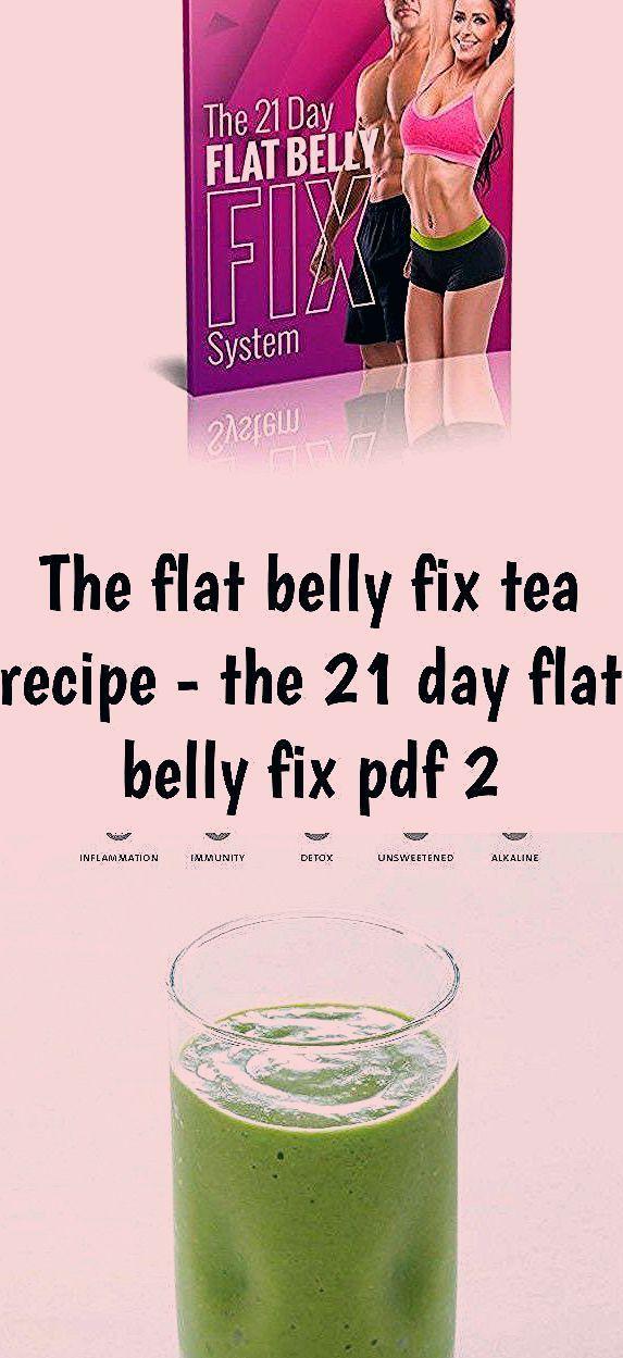 The Flat Belly Fix Tea Recipe The 21 Day Flat Belly Fix Pdf 2 Dena Parrish D Diet Recipes Tea Recipes Diet Recipes Flat Belly Diet Salad Recipes