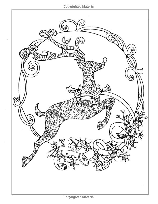 139 best CHRISTMAS COLORING images on Pinterest   Adult coloring ...