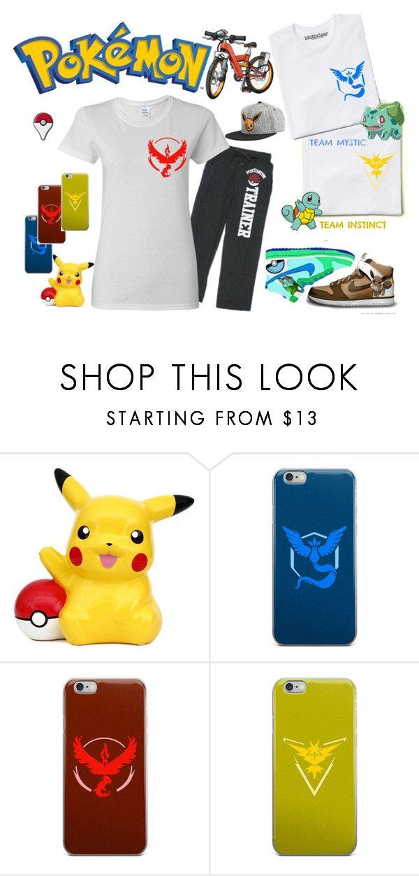 """Pokemon Go Starte Pack"" by htotheizzyclothing on Polyvore featuring Valor, Pokemon and PokemonGO"