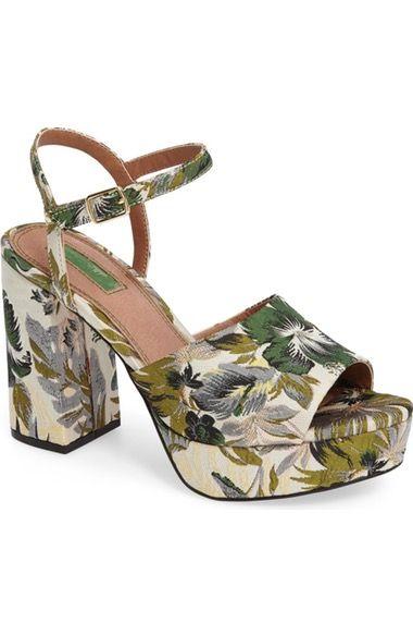Main Image - Topshop Lava Platform Sandal (Women)