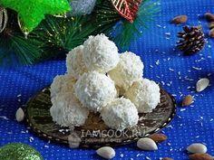 Кокосовые конфеты «Снежки»