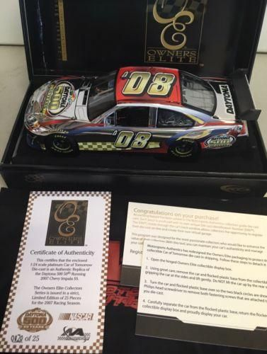 Daytona 500 50th Running #08 2007 Impala SS COT Owners Elite Platinum 1/24 20/25