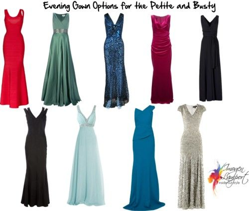 evening gowns petite and busty, Imogen Lamport, Wardrobe Therapy, Inside out Style blog, Bespoke Image, Image Consultant, Colour Analysis