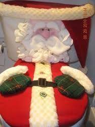 Resultado de imagen para babuchas navideñas moldes