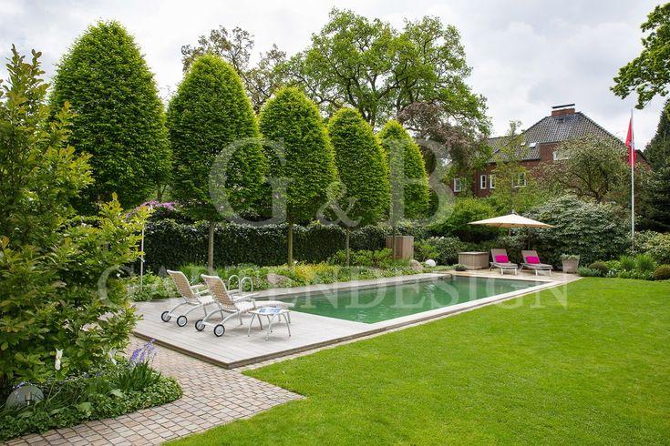 PRIVATGARTEN MIT SCHWIMMTEICH / HAMBURG | Gempp Gartendesign