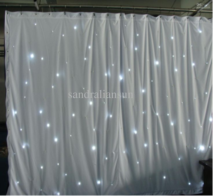 Lights Behind Sheer Curtains Wholesale Top Quality