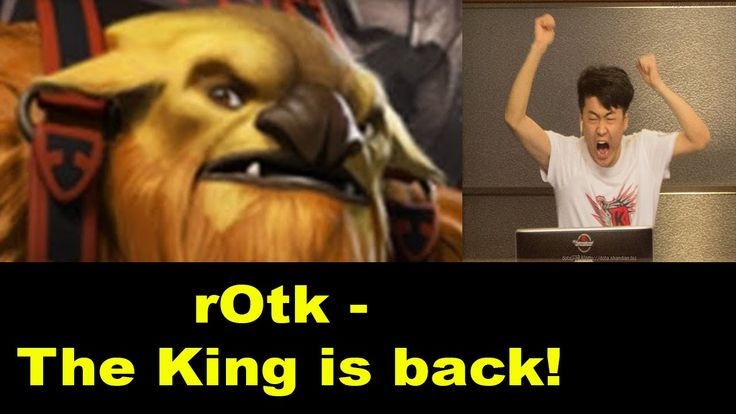 Dota 2 LGD vs EHOME - rOtk Earthshaker Return of the King - Dota 2 Major