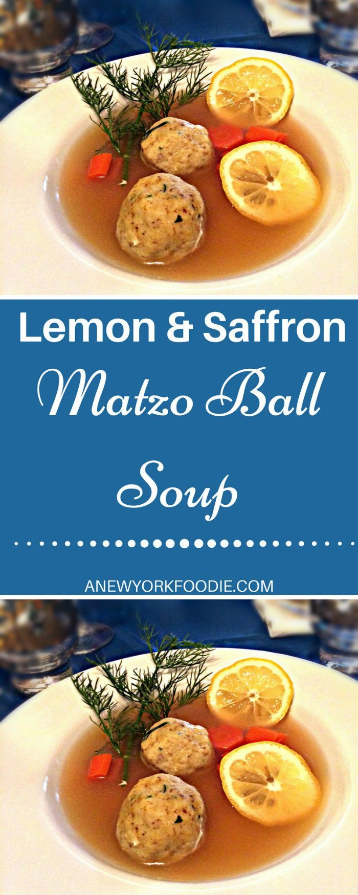 Lemon Saffron Matzo Ball Soup | Recipe | soup | Pinterest | Lemon ...