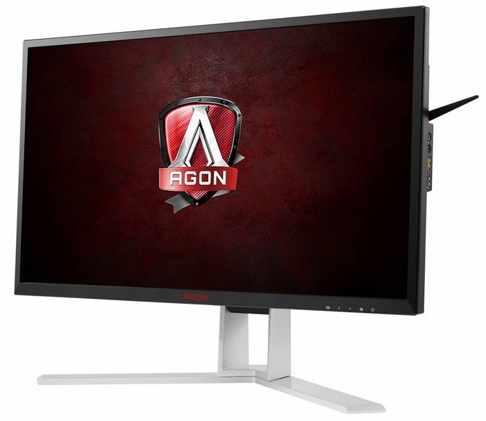 Today, we're looking at another member of AOC's Agon line of premium gaming monitors. The AG271QG features a QHD-resolution IPS panel with 165Hz, G-Sync and ULMB.