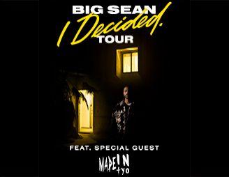 The I Decided tour: Big Sean concert review