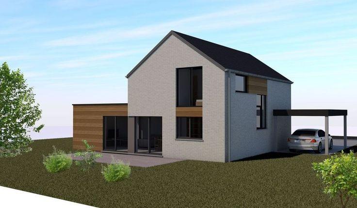 Om in te spelen op de nieuwe demografische ontwikkelingen en het tekort aan bouwgronden, pakt Jumatt, een firma gespecialiseerd in houtskeletbouw, uit met een nieuw concept van compacte en evolutieve woningen.