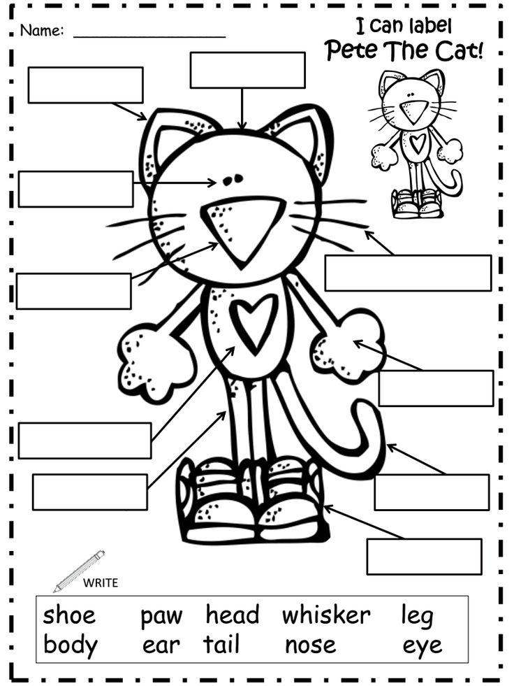 Pete the Cat Shoes Activities | KidsSoup