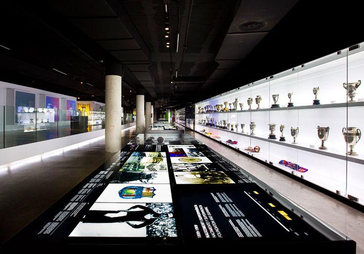 The New FC Barcelona Museum. #exhibit