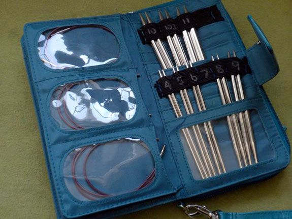 Transform a large wallet into an interchangeable knitting needle case | Yarn Rescue blog