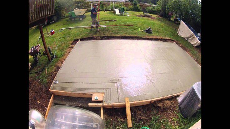 Concrete Patio 12'x20'